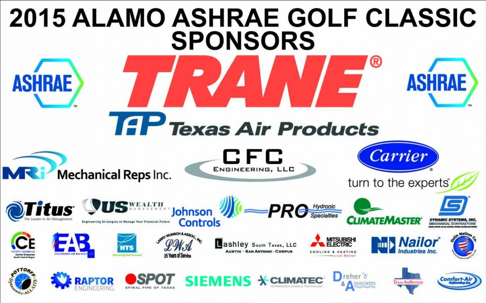 2015 Alamo ASHRAE Golf Tournament